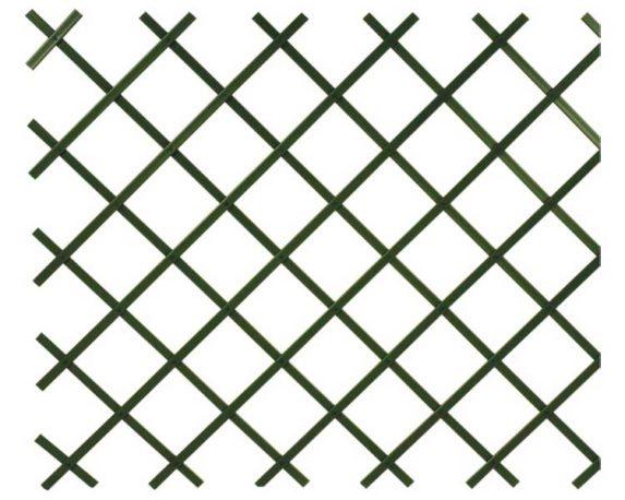 Traliccio Estendibile Verde Pvc 200×100