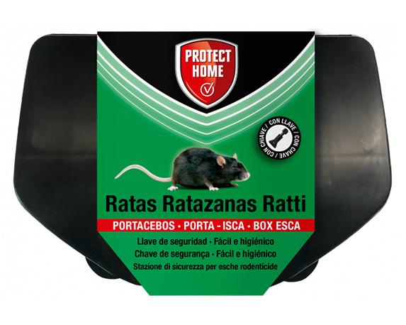 Box Porta Esca Per Ratti Protect Garden