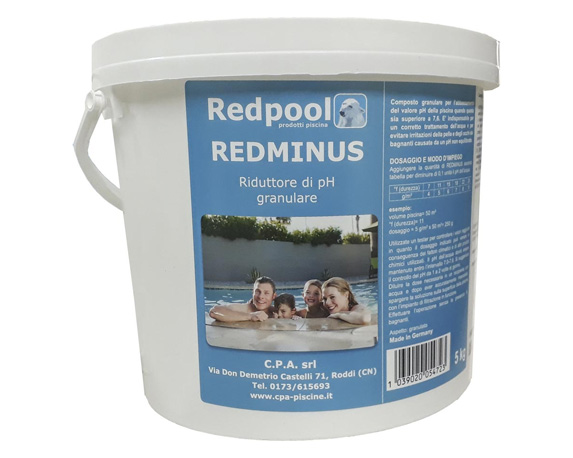 REDMINUS GRANULARE REDPOOL