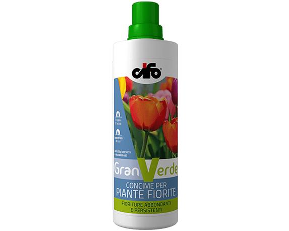 Concime Liquido Granverde Per Piante Fiorite 1lt Cifo