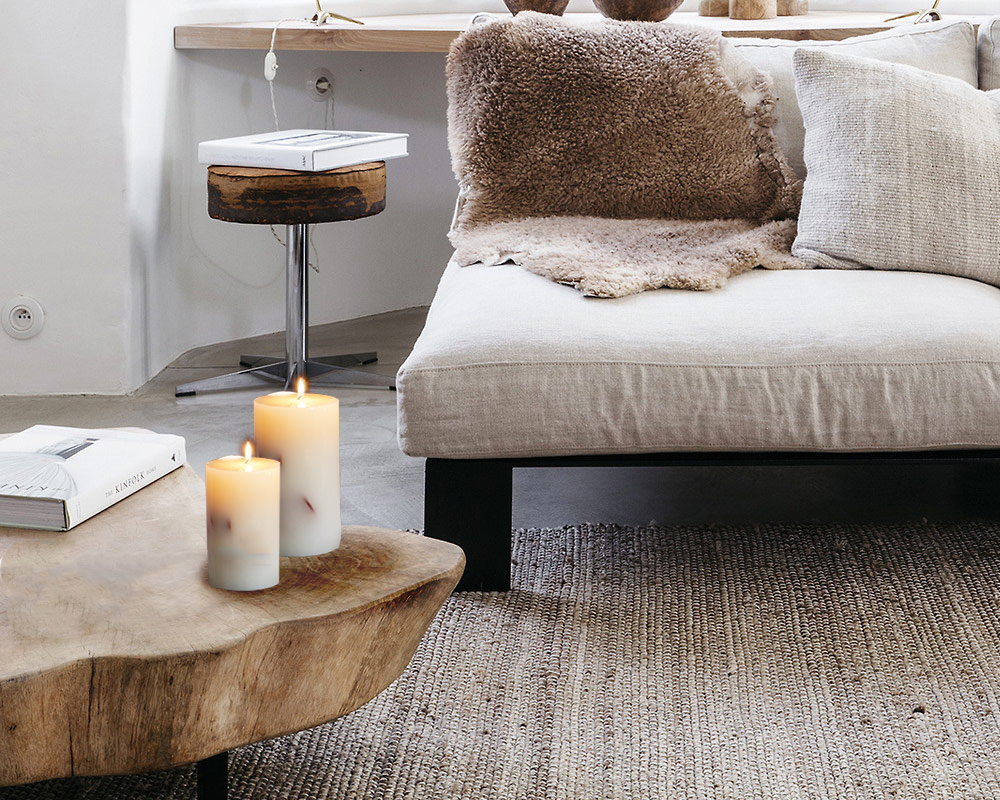 candela mele candele casa e decor decorazioni naturale corino bruna ambiente