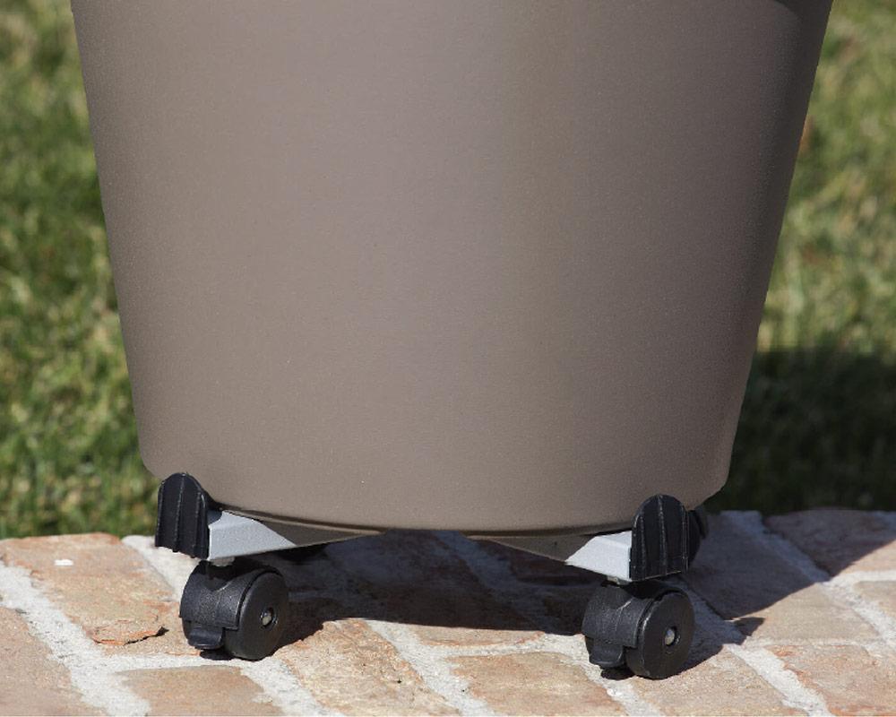 carrello per piante corino bruna giardinaggio vasi e coprivaso accessori