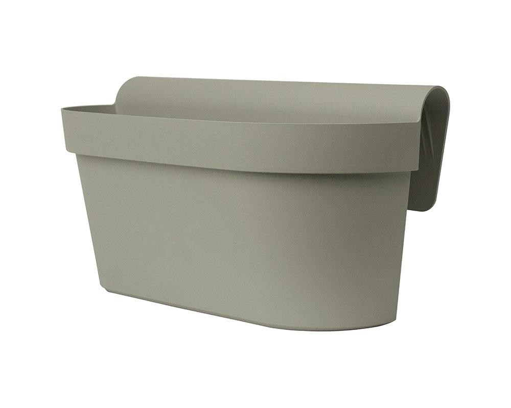 cassetta up cm 50 corino bruna degrea vasi e coprivaso giardinaggio tortora origano