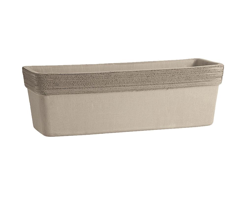 cassetta venezia graffiata terracotta vulcanica corino bruna vasi e coprivaso giardinaggio