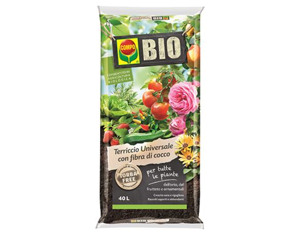 Terriccio Universale Con Fibra Di Cocco Biologico 40lt – Compo