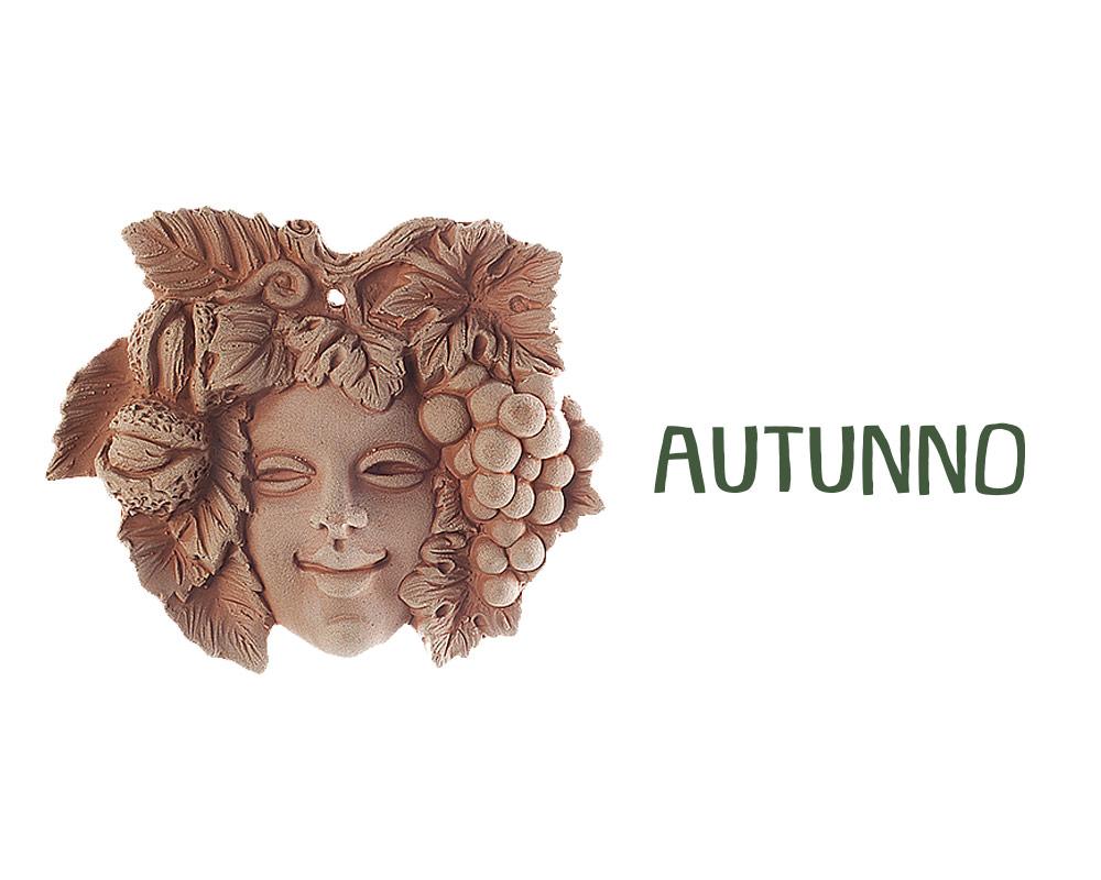 figura in terracotta stagioni autunno corino bruna decorativi giaridno arredo decorazioni