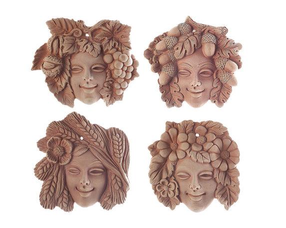 Mascherine 4 Stagioni Terracotta