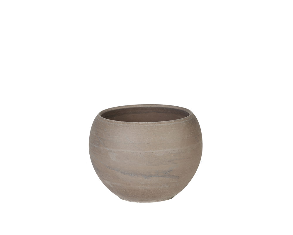mini ciotola luna basalto 8cm corino bruna vasi e coprivaso giardinaggio