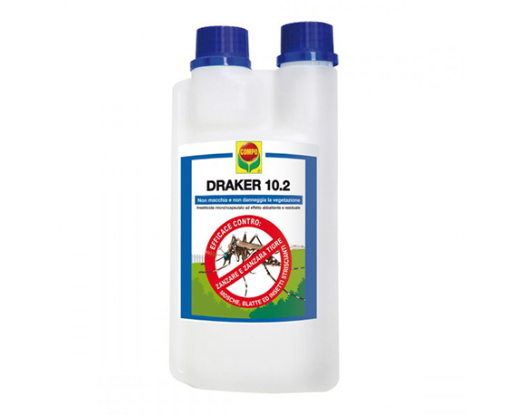 Anti Zanzare Draker 300ml Compo