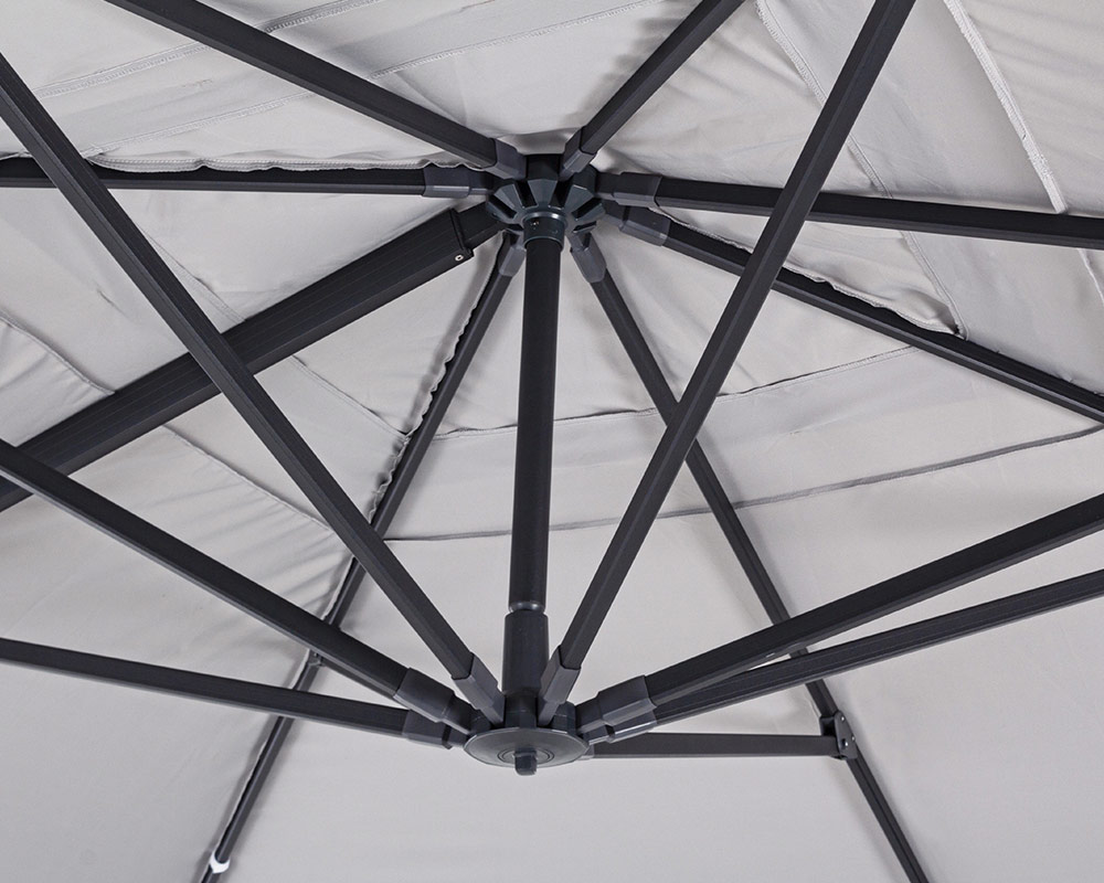 ombrellone a braccio ines arredo giaridno relax ombrellone bizzotto alluminio poliestere 2 1