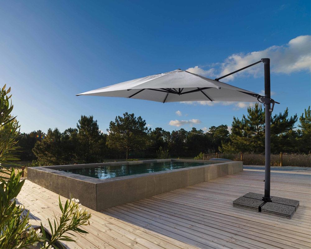 ombrellone a braccio ines arredo giaridno relax ombrellone bizzotto alluminio poliestere 4 1