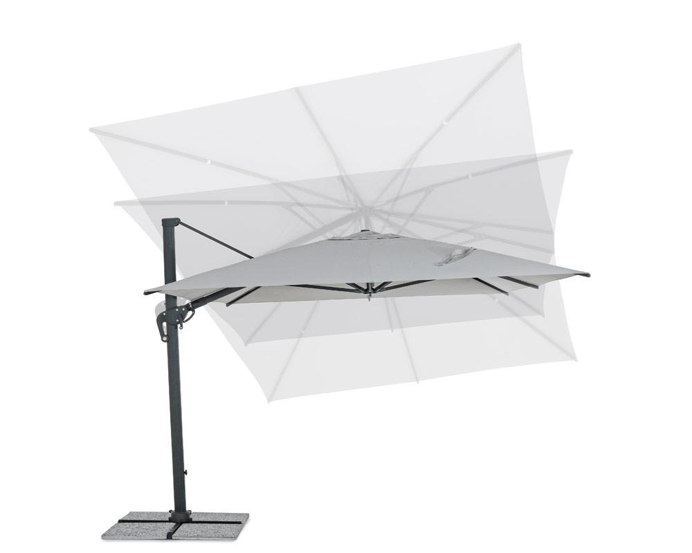 ombrellone a braccio ines arredo giaridno relax ombrellone bizzotto alluminio poliestere 6 1