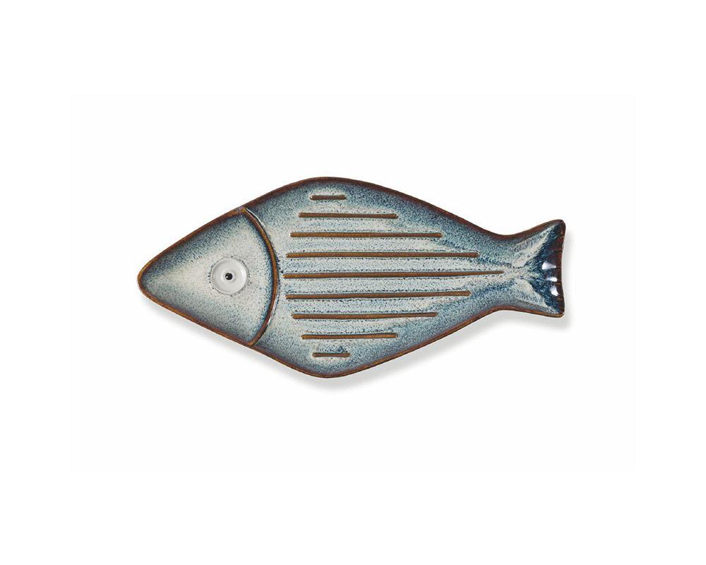 piatto pesce 31 decorativo in ceramica villa deste galileo 1