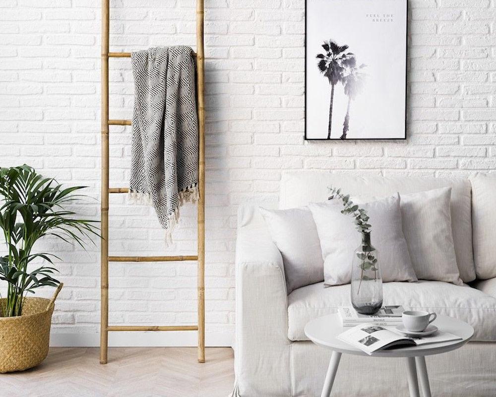 scala decorativa joyce bamboo arredo bizzotto complementi 2 1
