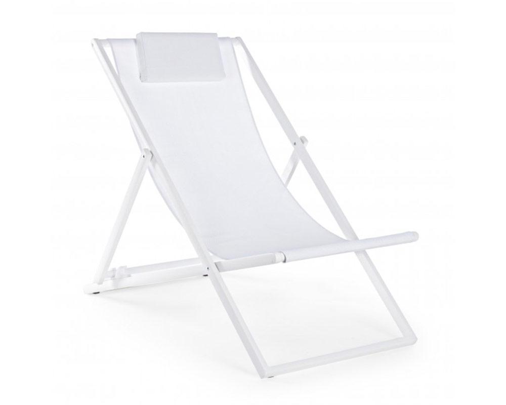 sdraio taylor alluminio bianco bizzotto complementi relax arredo giardino superofferte textilene bizzotto10007339 066 3 1