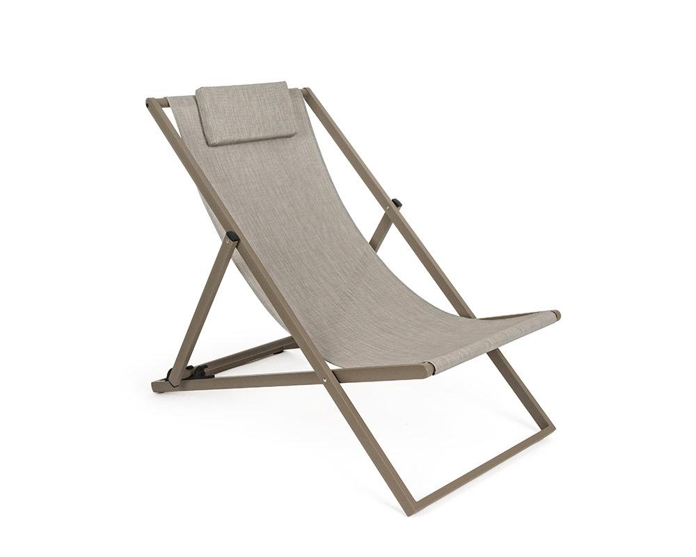 sdraio taylor alluminio stone bizzotto complementi relax arredo giardino superofferte textilene bizzotto 066247 1