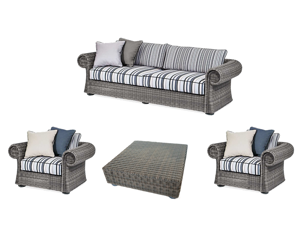 set4 salotto esterno divano 2 poltrone tavolino  1