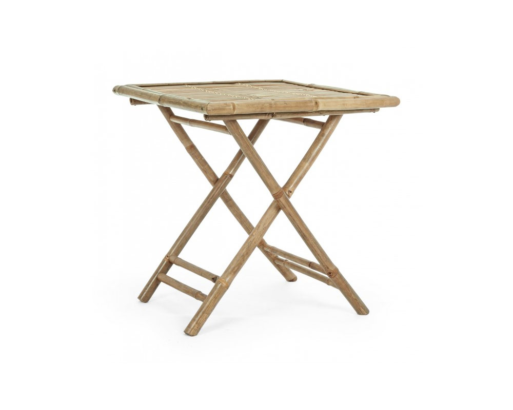 tavolo 70x70 bamboo tavoli e sedie arredo giardino bizzotto 1 1