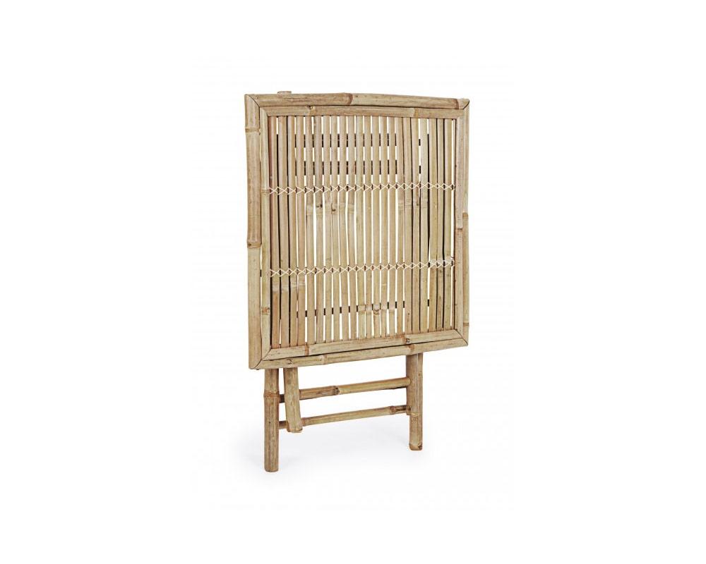 tavolo 70x70 bamboo tavoli e sedie arredo giardino bizzotto 2 1