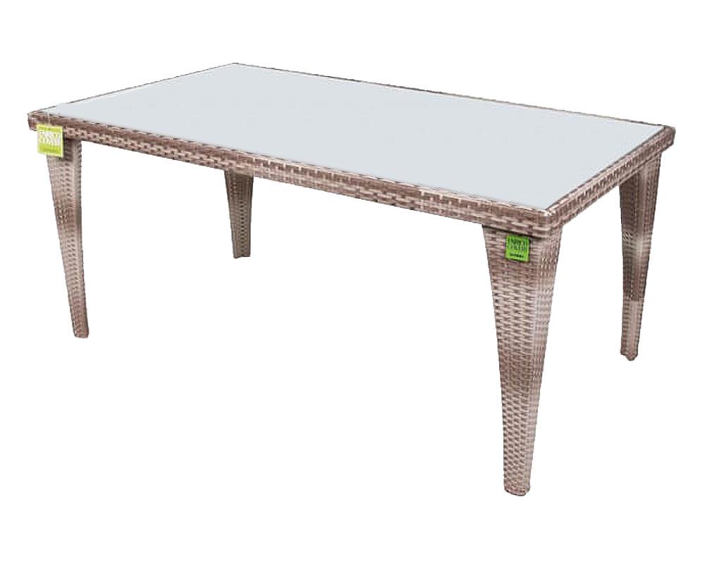 tavolo rettangolare easy coveri garden ecorattan esterno giardino tavolo 1