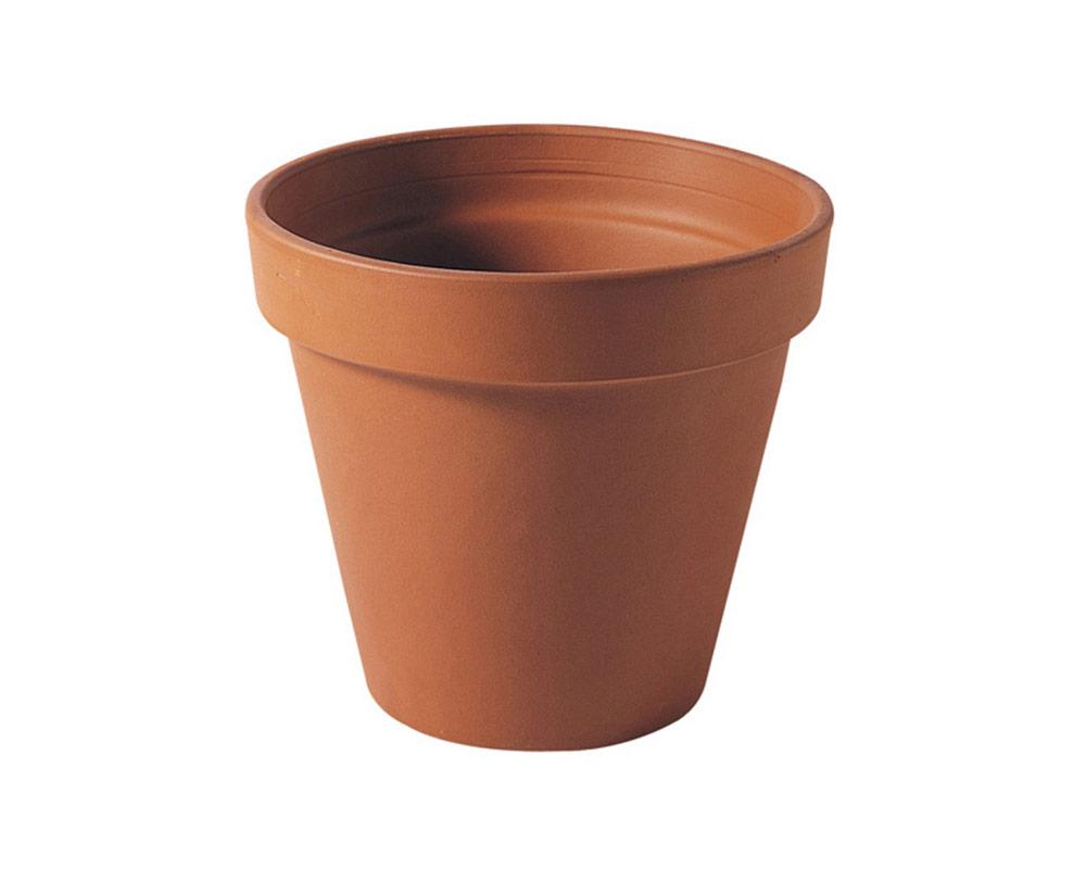 vaso Terra 27cm corino bruna degrea vasi e coprivaso giardinaggio