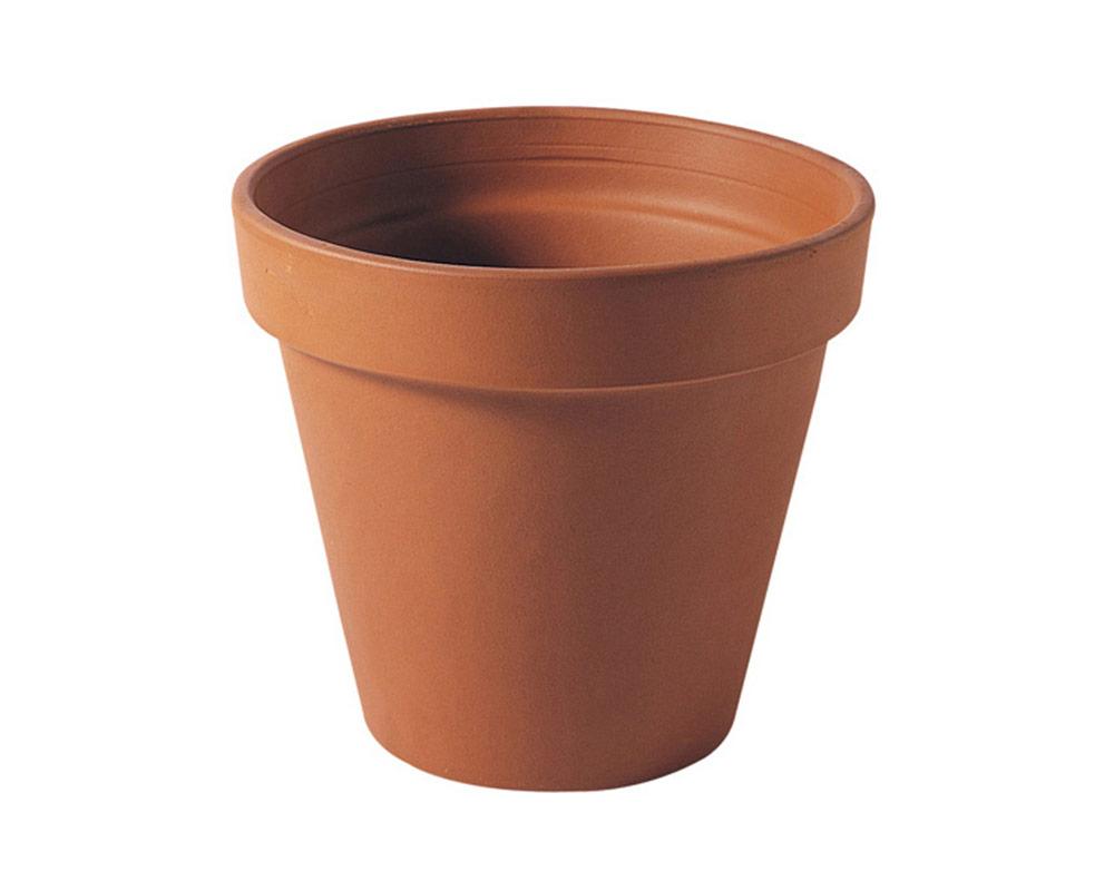 vaso Terra 31cm corino bruna degrea vasi e coprivaso giardinaggio