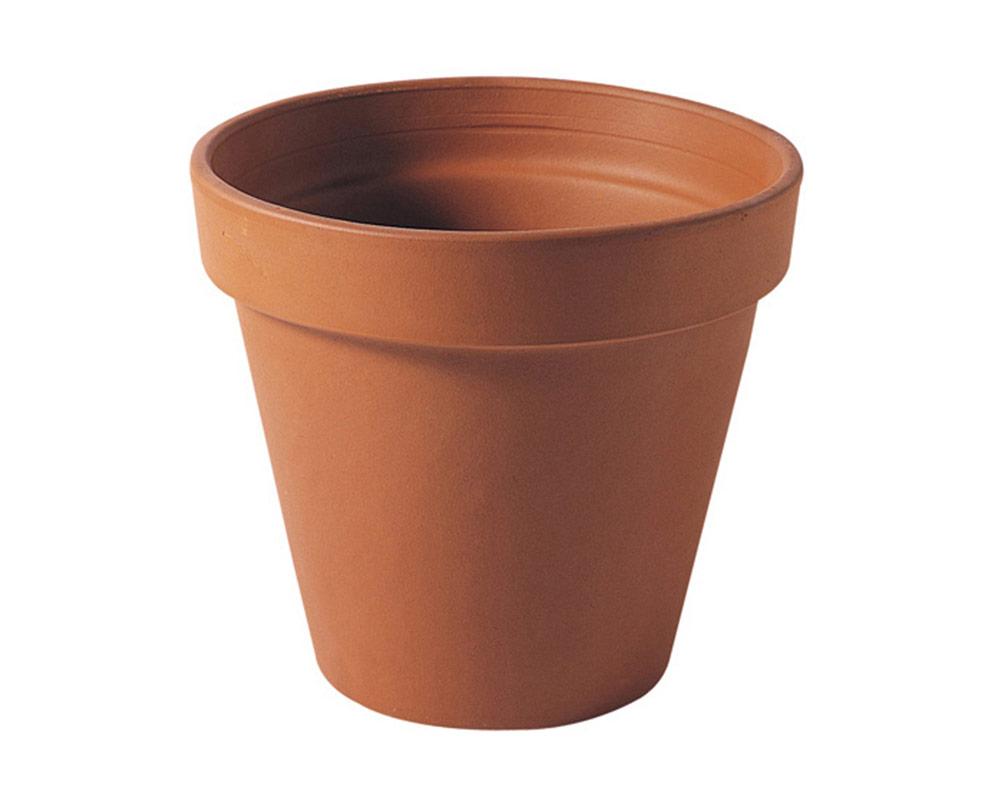 vaso Terra 35cm corino bruna degrea vasi e coprivaso giardinaggio