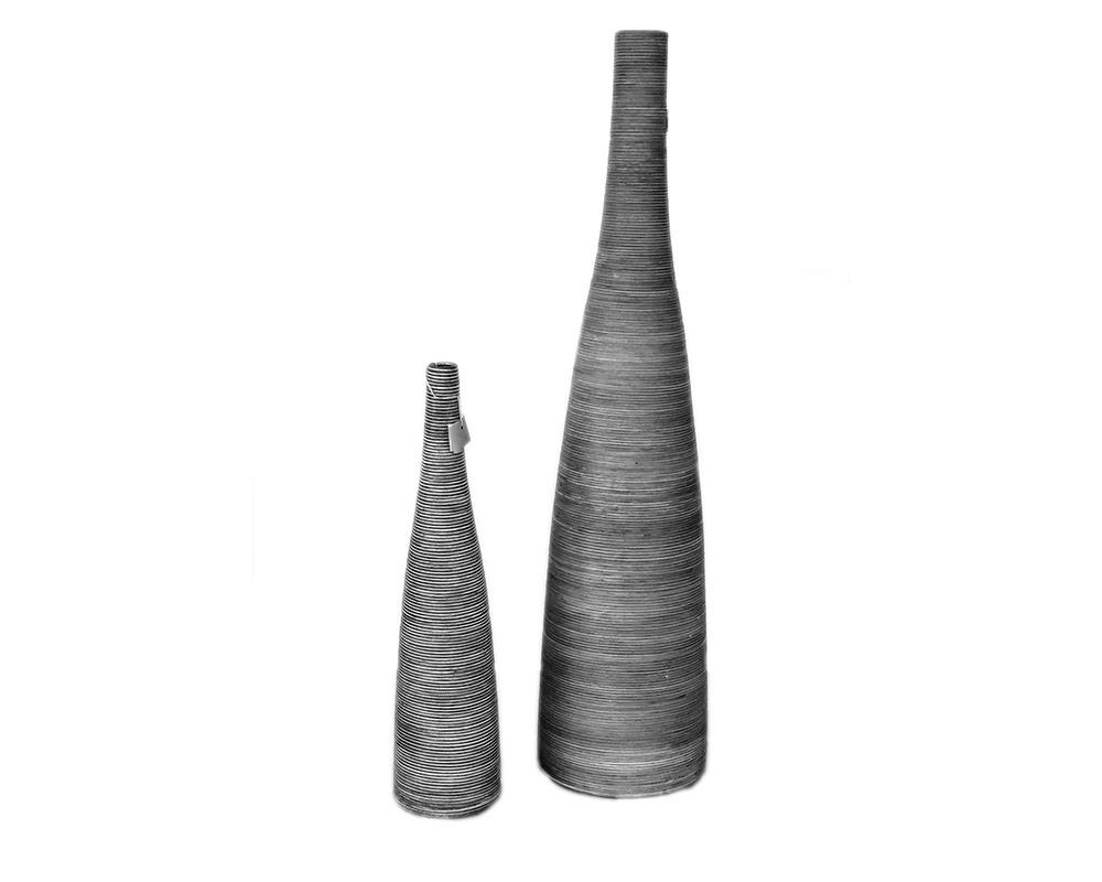 vaso bottiglia fibrapietra vasie e coprivaso anfore vasi.duo