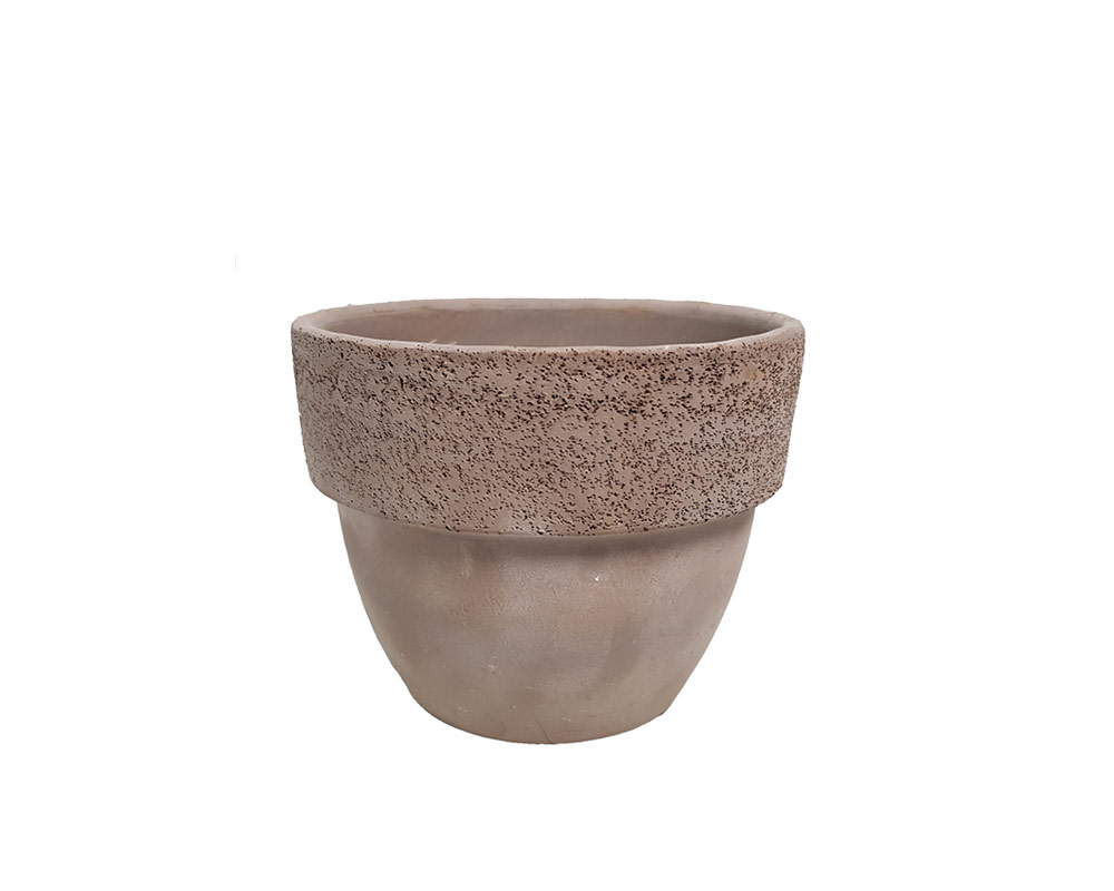 vaso montalto vulcano graffiato corino bruna degrea vasi e coprivaso giardinaggio