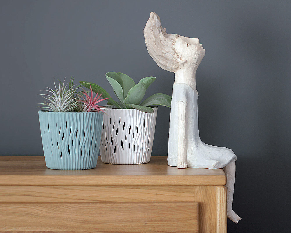 vaso sandy c riserva vasi in plastica vasi e coprivaso corinobruna ambiente