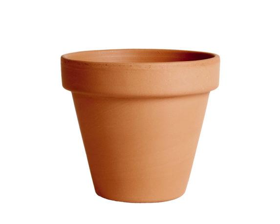 vaso terracotta classica standard 21cm corino bruna degrea vasi e coprivaso giardinaggio