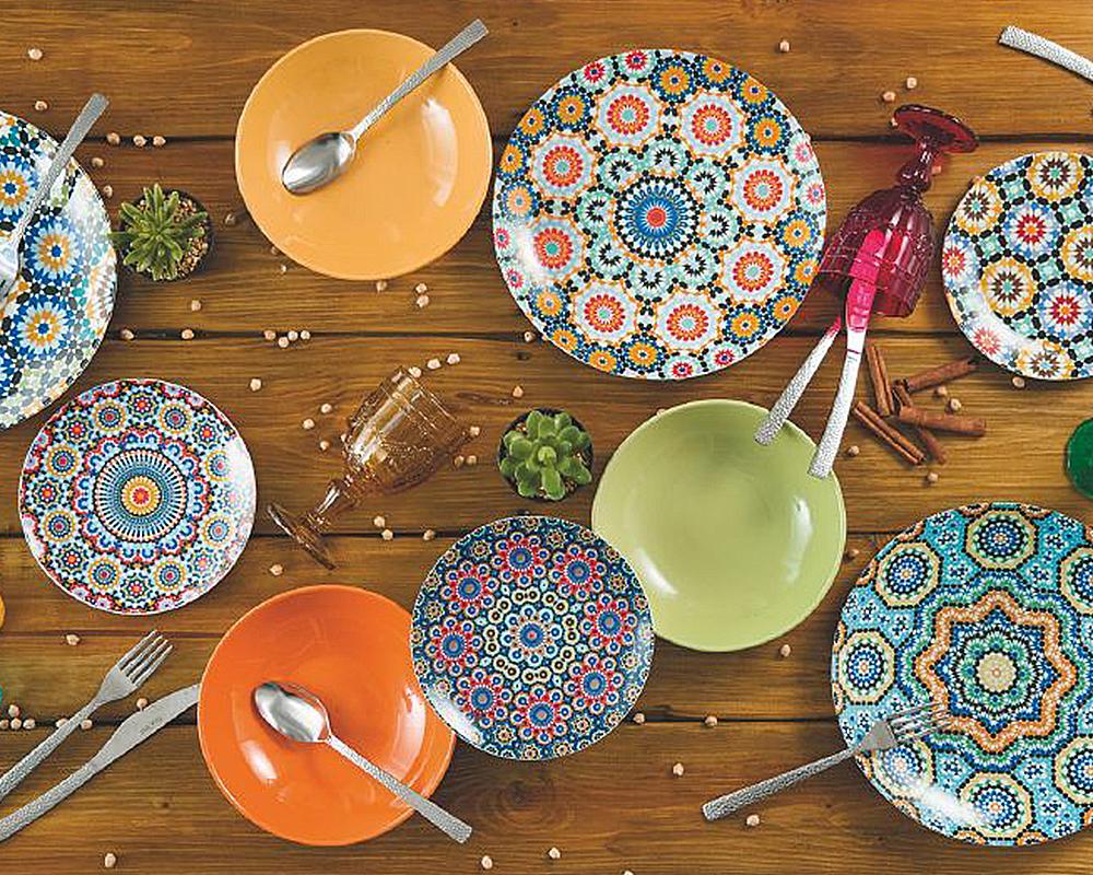 Servizio piatti 18 pz marrakech complementi tavola villa deste galileo 2