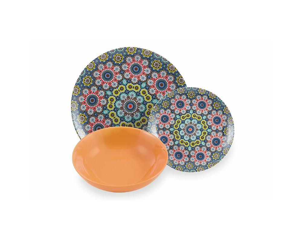 Servizio piatti 18 pz marrakech complementi tavola villa deste galileo 3