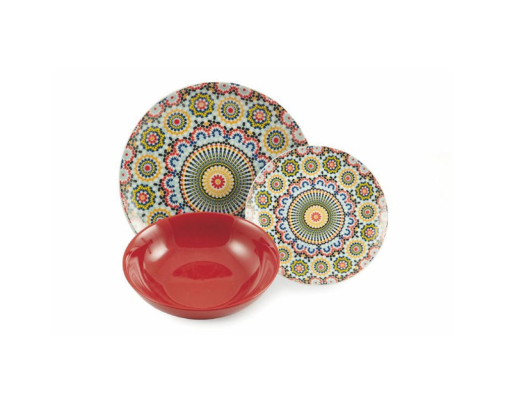 Servizio piatti 18 pz marrakech complementi tavola villa deste galileo 8
