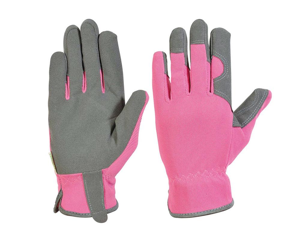 guanti rosa guanti vestiario verdemax giardinaggio