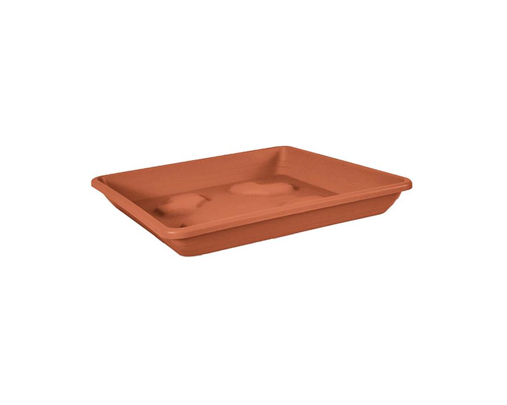 sottovaso quadrato 30 cm veca vasi e coprivaso giardino plastica 1