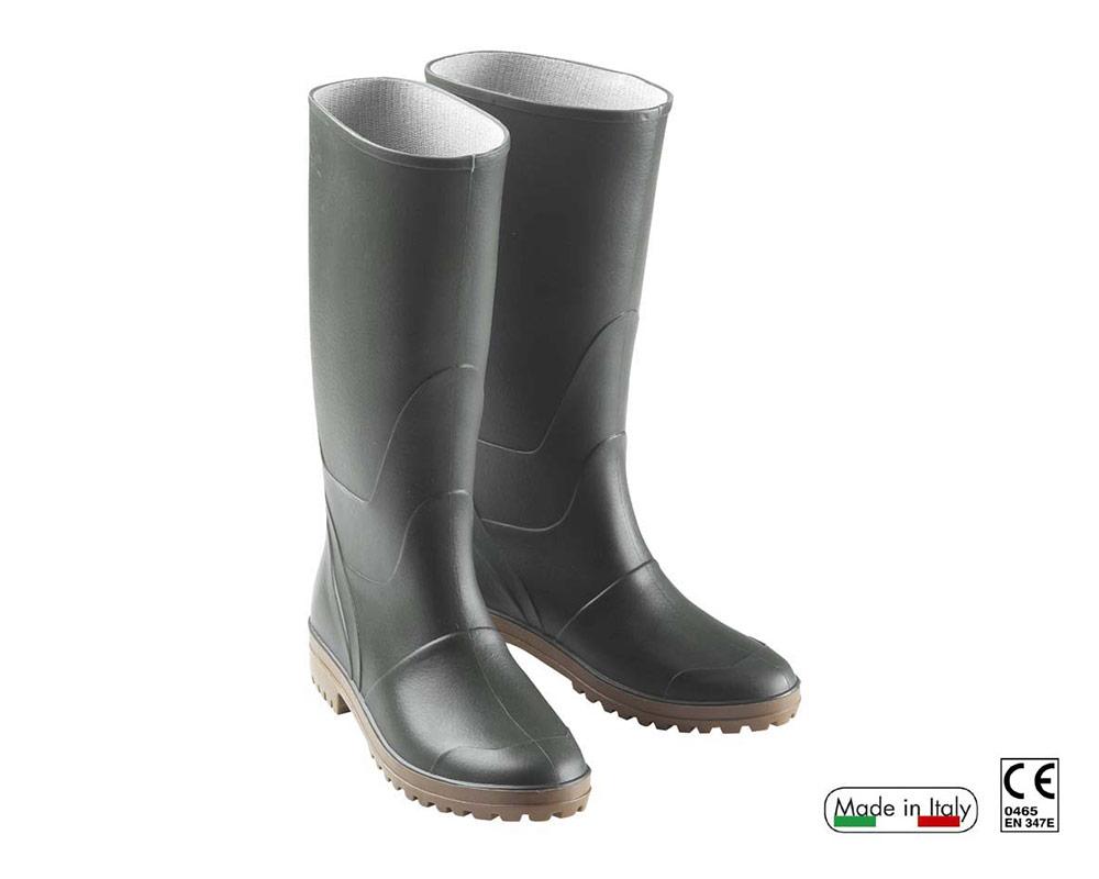 stivali al ginocchio 44 gomma vestiario scarpe verdemax giardinaggio