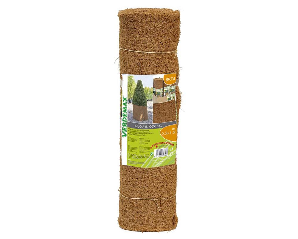 stuoia di cocco protezione attrezzi tessuto verdemax giardinaggio.default