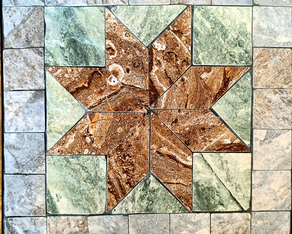 trittico alzata piante maiolica styella garden team disegno