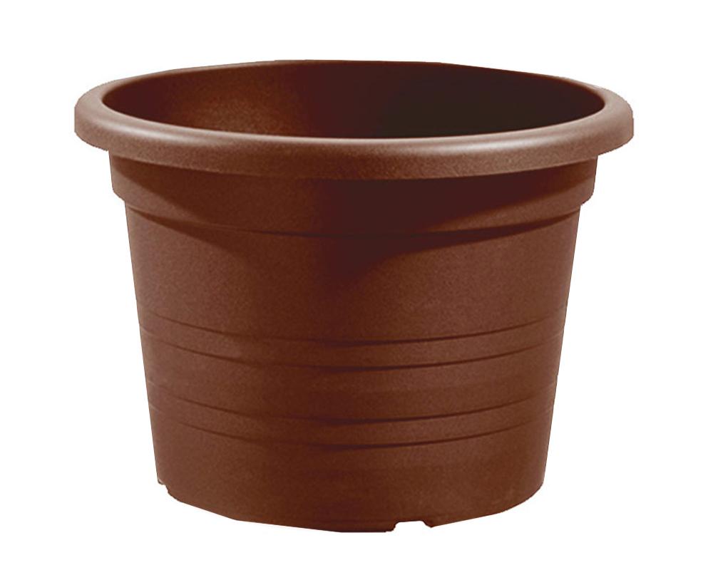 vaso cilindro 50 cm veca vasi e coprivaso giardino plastica 3