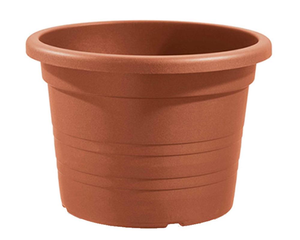 vaso cilindro 60 cm veca vasi e coprivaso giardino plastica terracotta