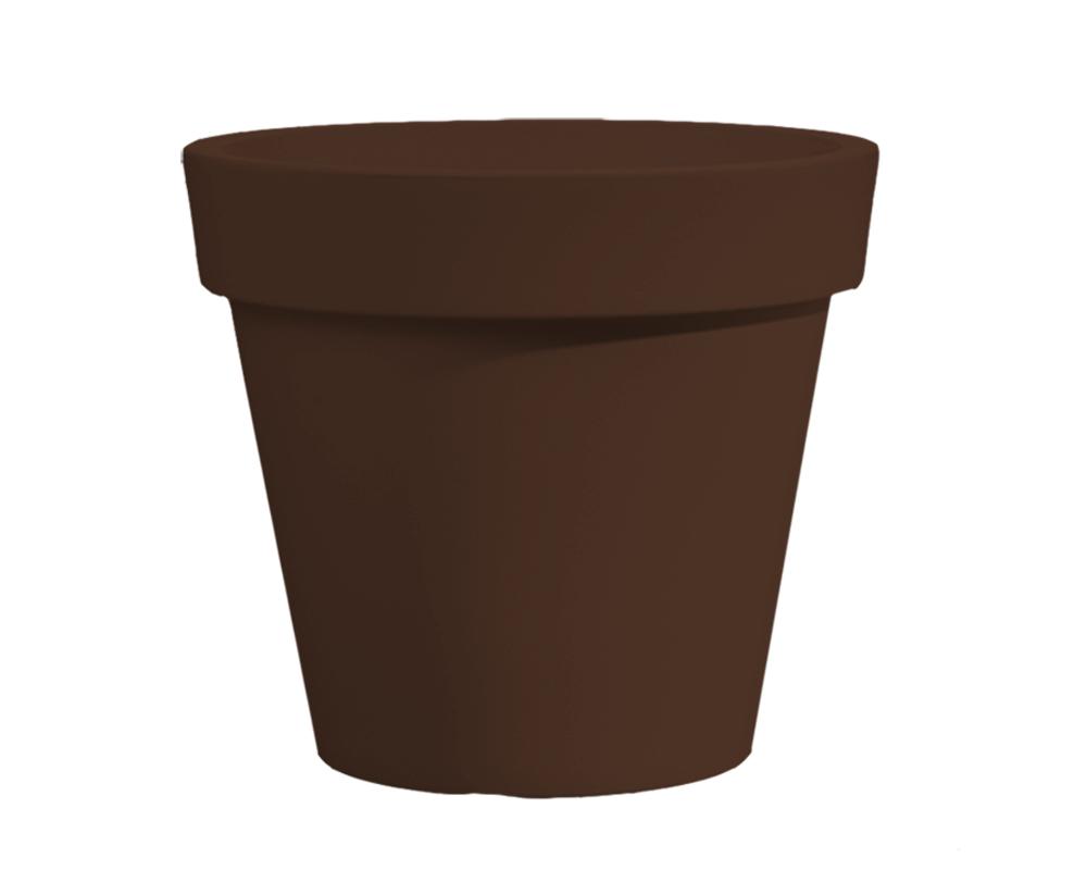 vaso easy 55 cm bronzo veca vasi e coprivaso giardino plastica 1