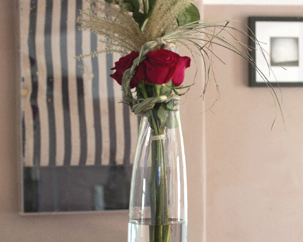 vaso in vetro conico 2981 corino bruna vasi e coprivaso giardinaggio.ambiente