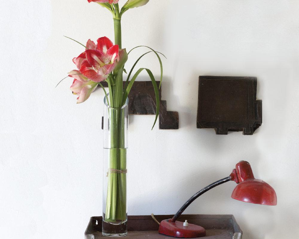 vaso in vetro conico corino bruna vasi e coprivaso giardinaggio.ambiente 1