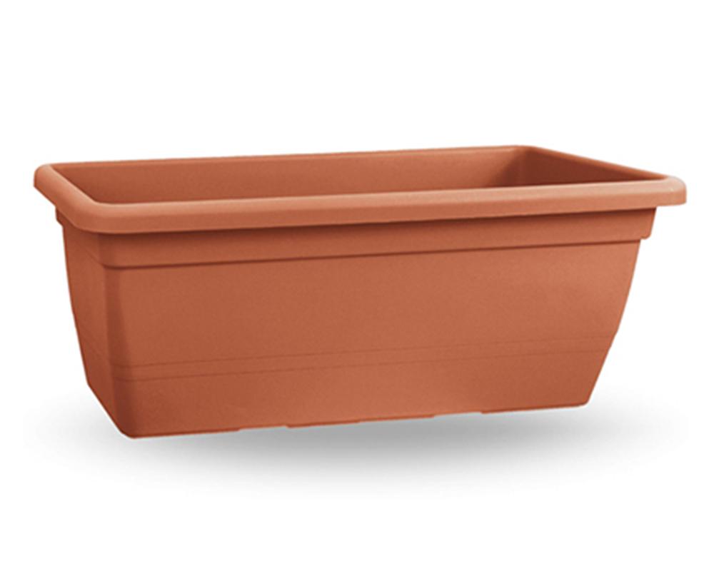 veca cassetta anthea cm80 terracotta giardinaggio vasi outdoor fioriere vasi e ecoprivaso