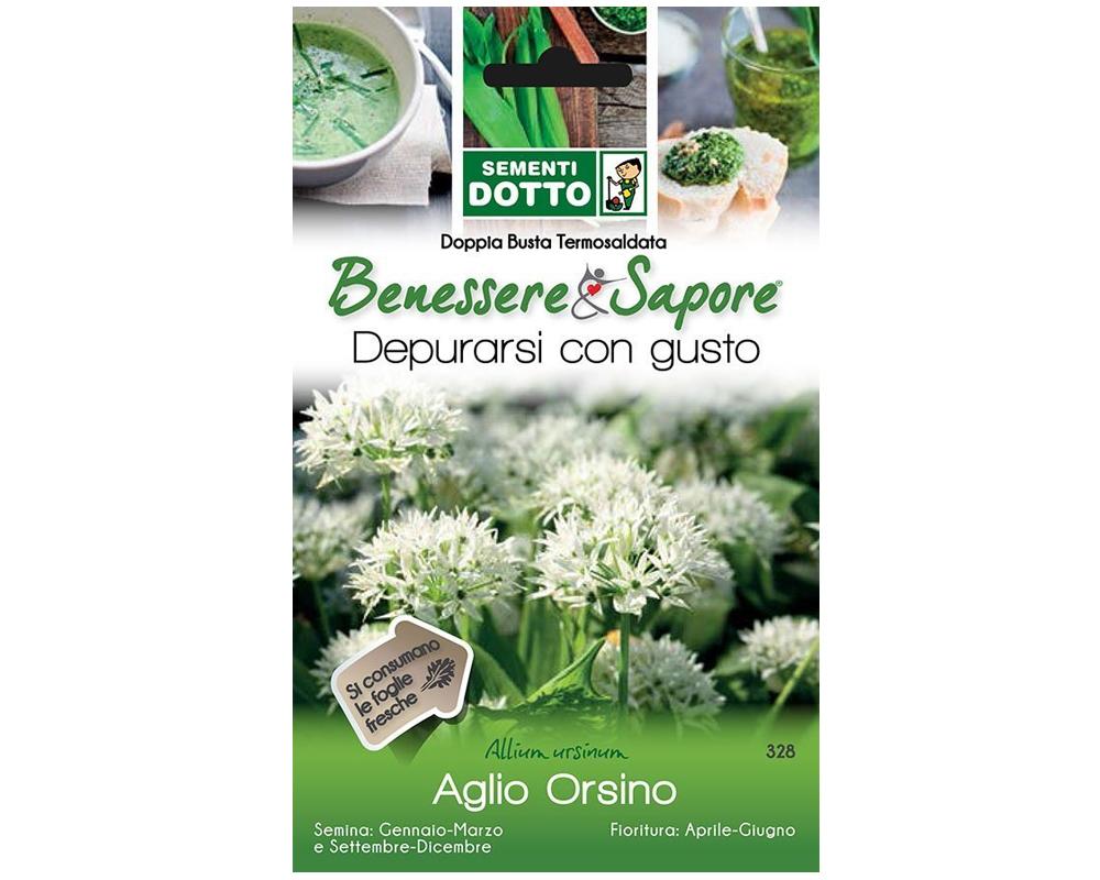 AGLIO ORSINO LINEA BENESSERE sementi dotto