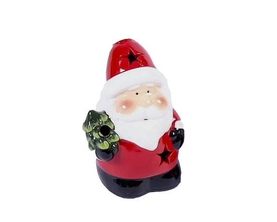 Babbo Natale / Renna Led Terraglia