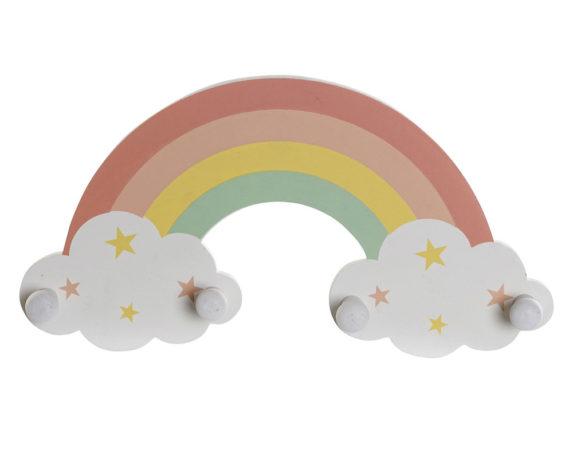 Attaccapanni Arcobaleno Mdf Multicolore