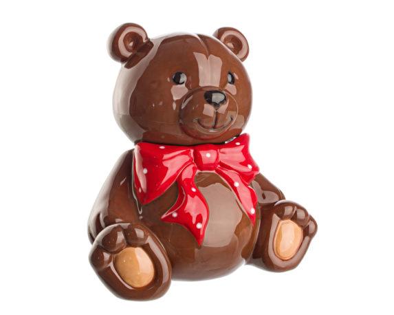 Barattolo Teddy Bear Porcellana