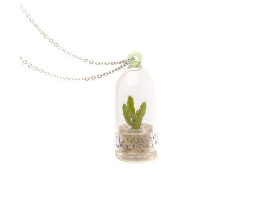 Collana Capsula Ant Apple La Felicita' Verde Original